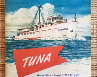 Vintage Star-Kist Tuna Advertising Booklet: French Sardine Co, California--c1940's