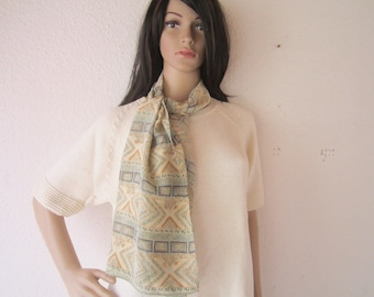 Vintage silk scarf Scarf