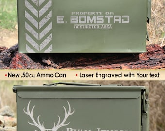 Birthday Gift for Him, Mens Gift Ideas, Personalized Husband Birthday Gift, Boyfriend Birthday Gift, Mens Birthday Gift, Man Gift, Ammo Can