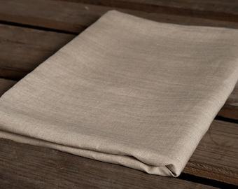 Eco Linen Bed Sheet, Linen Bedding, Linen Flat Sheet, Natural Linen Bed Sheet, Not Dyed Organic Sheet