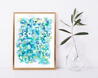 Minimalist Art Print - Abstract Printable - Abstract Art Print - Expressionst Art Print - Modern Art Print - Modern Home Decor - 9x12 Print