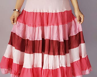 Multi Tiered Skirt