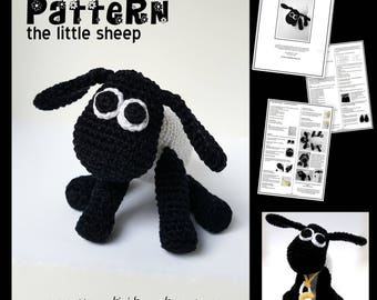 The little sheep - a crochet pattern