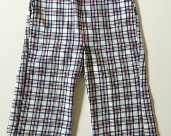 Vintage Healthtex Plaid Pants 2T 3T