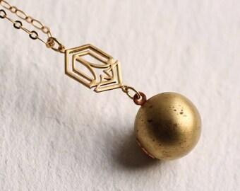 Art Deco Necklace, Lariat Necklace, Art Nouveau Locket, Photo Locket, Vintage Locket, Great Gatsby Jewelry, 1920s Necklace, Long Necklace