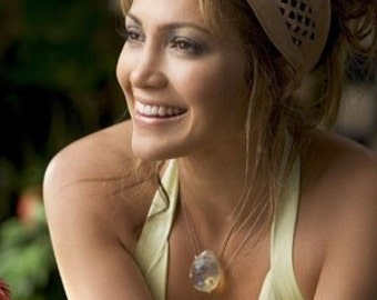 October Birthstone Necklace-Monster in Law-Jennifer Lopez Necklace-Opalite Pendant Necklace-Sterling Silver Necklace-Gemstone Necklace