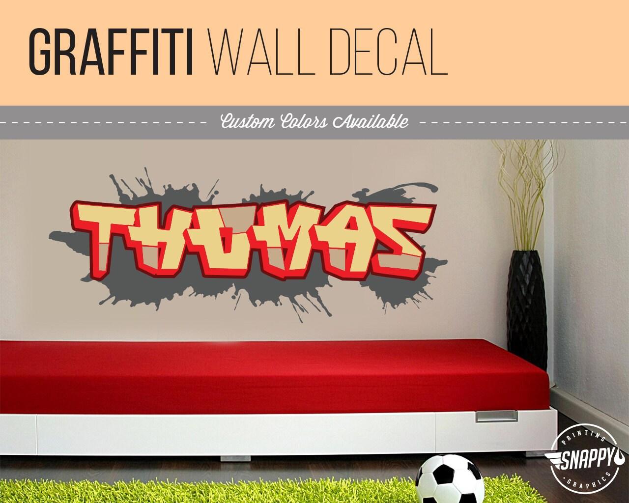 Benutzerdefinierte Graffiti benennen Stil und Farbe Schema