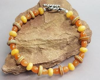 Jade Bracelet Carnelian Bracelet Beaded Bracelet