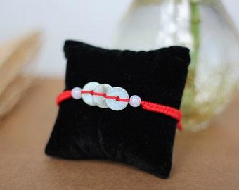 Jade Bracelet, Lucky Charm Bracelet, Prosperity Bracelet, Jade, Good Luck Bracelet, Adjustable Bracelet
