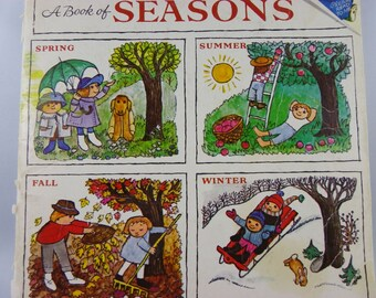Vintage 1976 A BOOK of SEASONS Book Softcover