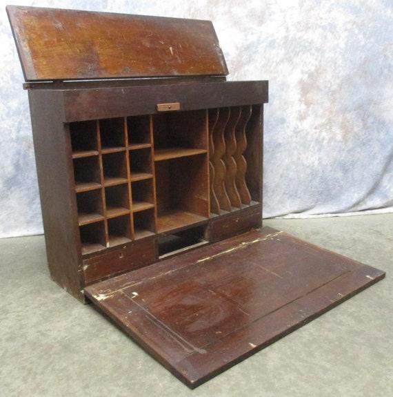 Antique Railroad Desk Antique Furniture