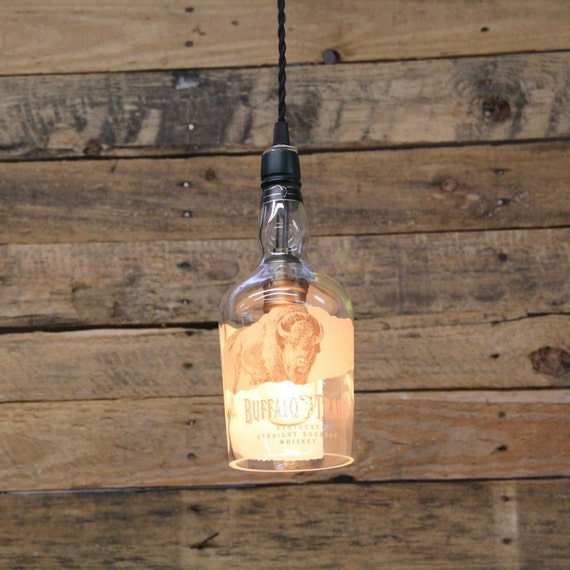 Trace Light Suspended Lights From Sklo: Buffalo Trace Bourbon Pendant Light Ceiling Light Fixture