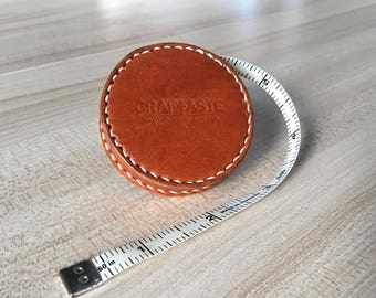 Leather-Covered Measuring Tape