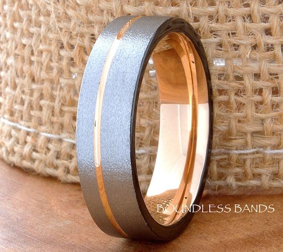 Tungsten Ring Tungsten Wedding Ring Men Women Wedding Band