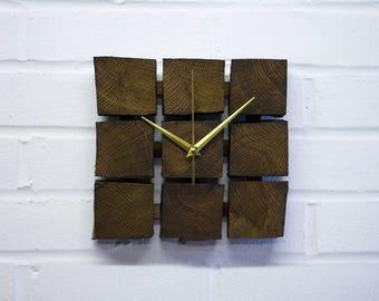 Wooden Clock Solid Oak