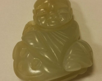 Beautiful Chinese Carved Jade Pendant