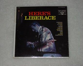 """Vintage Vinyl LP Record Album """" Here's Liberace """""""