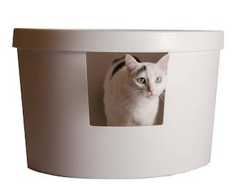 corner cat litter box furniture. Kitangle Corner Kitty Litter Box Cat Furniture