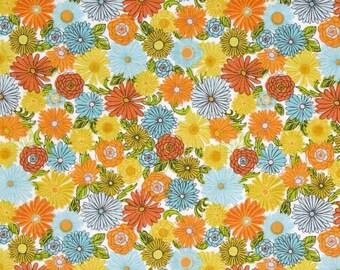 Blend Fabrics - Garden Floor White - Field Day Collection - 114.104.05.1