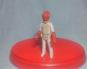 Star Wars figure of Admiral Ackbar, Taiwan 1982.