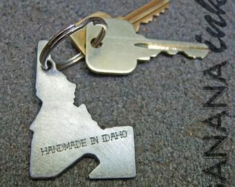 Idaho Bottle Opener Keychain -BANANA ink