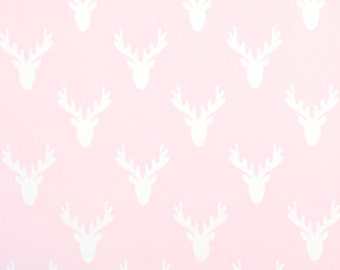"""Premier Prints Fabric-Antlers-Deer Antlers- Bella Pink Twill-or color choice-54"""" wide-Fabric by the yard cotton decorator fabric"""