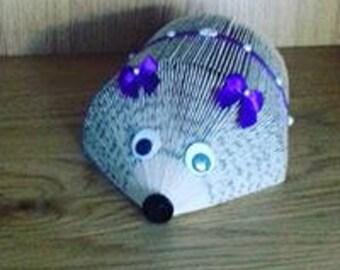 Hand Folded Hedgehog
