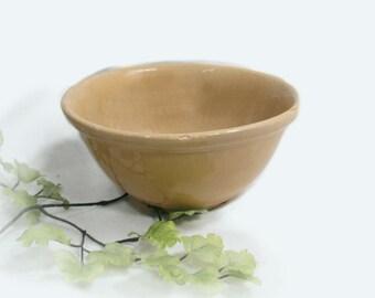 crock bowl ,farm bowl, primitive bowl, country bowl, rustic bowl ,home decor bowl, #18