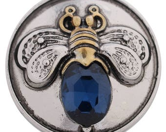 Bee Snap, Bee Jewellery, Bee Charm, Bee Buttons, Queen Bee Charm, Snap Buttons, Snap Charm Jewelry, Snap Button Charms, Snap Jewelry Button