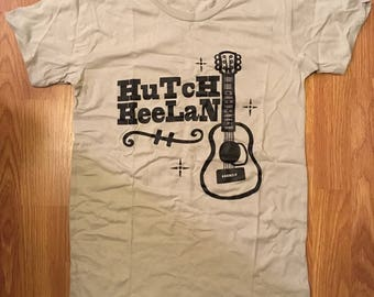 LADIES L T-SHIRT Hutch Heelan Guitar