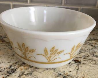 Hazel Atlas wheat bowl