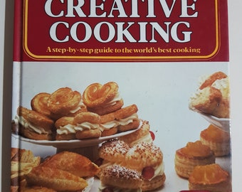 Vintage Retro Encyclopedia of Creative Cooking Volume 6 Sweet and Savoury Pastry Hardcover