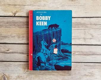 Adventures Of Bobby Keen Betty Swinford Mystery Teen Adventure Christian Fiction Boys Action Book Christ Centered Tale Cobalt Blue Decor 60s