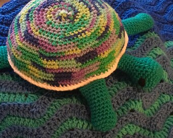 Stuffed Sea Turtle pillow pal