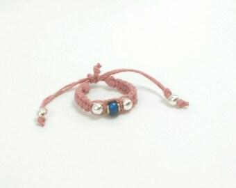 Baby MOOD Bracelet | Baby Hemp Bracelet with Mood Bead | Baby Gifts | Customizable | Baby Shower Gift | Baby Photo Prop