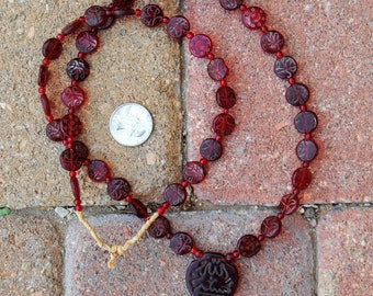 Ethiopian Glass Prayer Beads