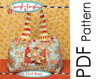 PDF Jennifer Jangles Lottie Dot Bag Sewing Pattern