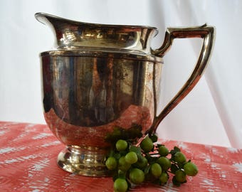 Silverplated Pitcher