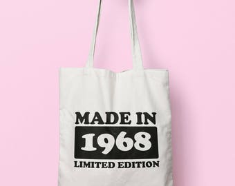 Made In 1968 Limited Edition Tote Bag Long Handles TB1731