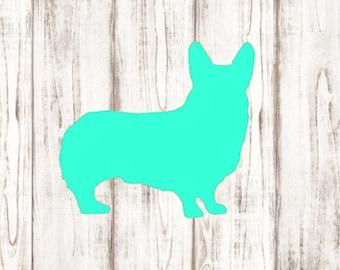 Welsh Corgi Vinyl Decal - Cardigan Pembroke Welsh Corgi Dog Pets