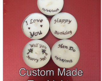 Tea Light Candles Favours (Individual Buy)