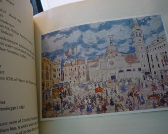Maurice Prendergast - Monotypes first edition 1984 Terra Museum of Art - for art lover - like new with dust jacket