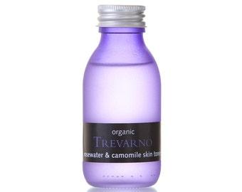 Organic Trevarno Rosewater & Camomile Skin Toner