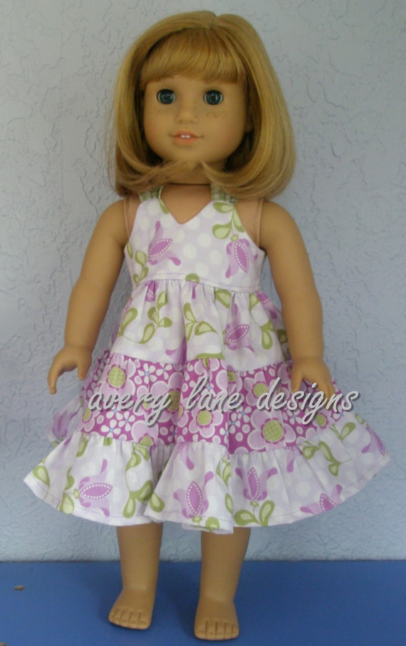 15 Inch Doll Clothing Pattern Gracie S Summer Dress Pdf