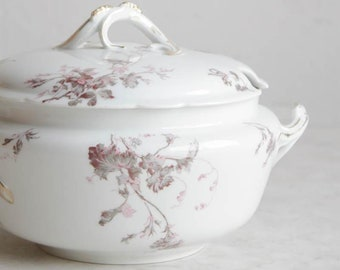 Lavender Tureen with Lid