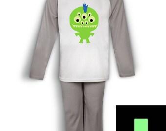 Monster (Glow In The Dark) kids pyjamas