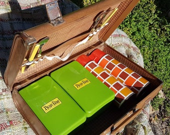 "Original Vintage ""PICNIC KING"" Picnic set"
