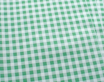 """Green Gingham Food Safe Wrapping Paper 100 sheets 10"""" x 15"""""""