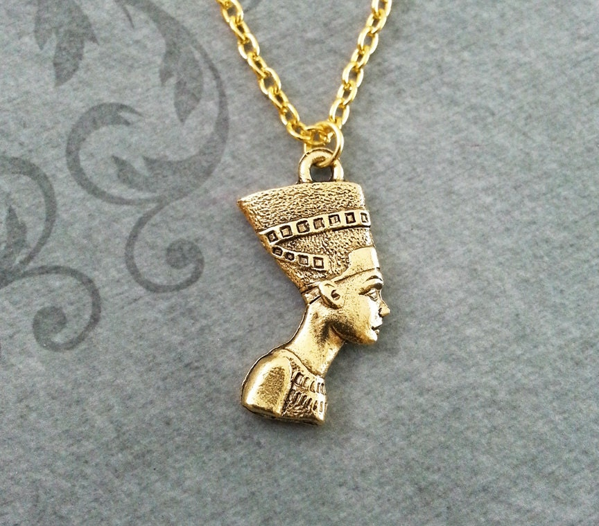 Nefertiti Necklace SMALL Queen Nefertiti Jewelry Egyptian