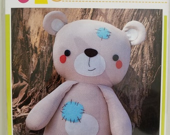 Melly and Me BUDDY Teddy Bear new craft pattern #MM151